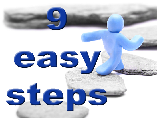 Nine easy steps to get your meaningful use $s