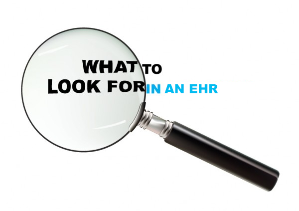 Five things to look for in an EHR to make it easy to get meaningful use incentive $s?
