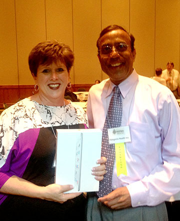EDNCPHA iPad Winner from Person County Health Department!