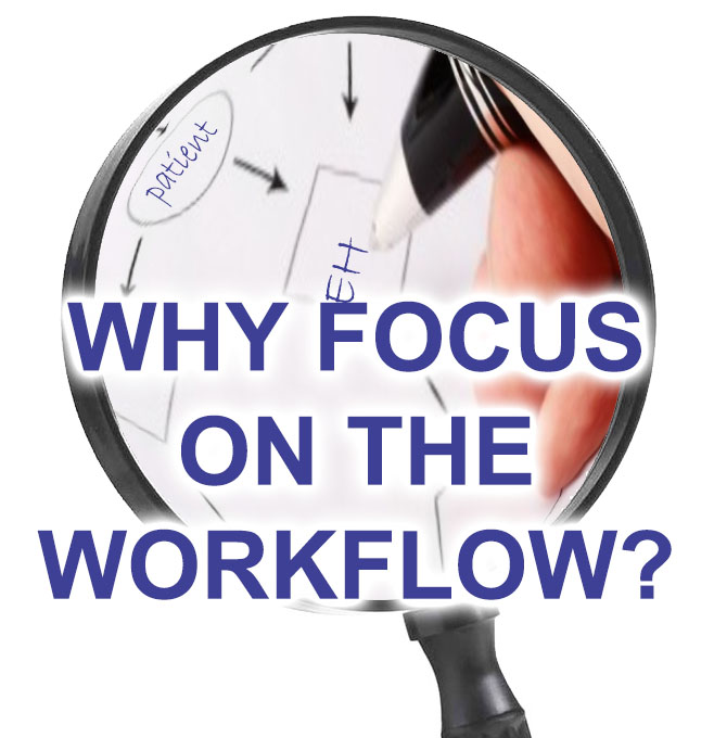 Why Public Health Departments should focus on improving workflow as well as EHR implementation