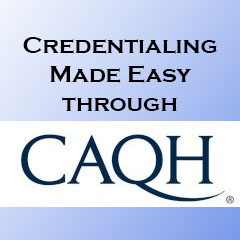 What are some benefits to healthcare providers for using CAQH?