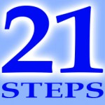 21 steps