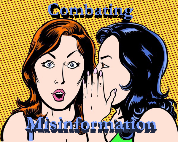 misinformation gossip graphic