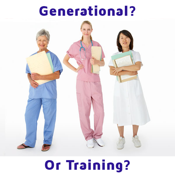 EHR Adoption Problems - Is it a generational or training issue?