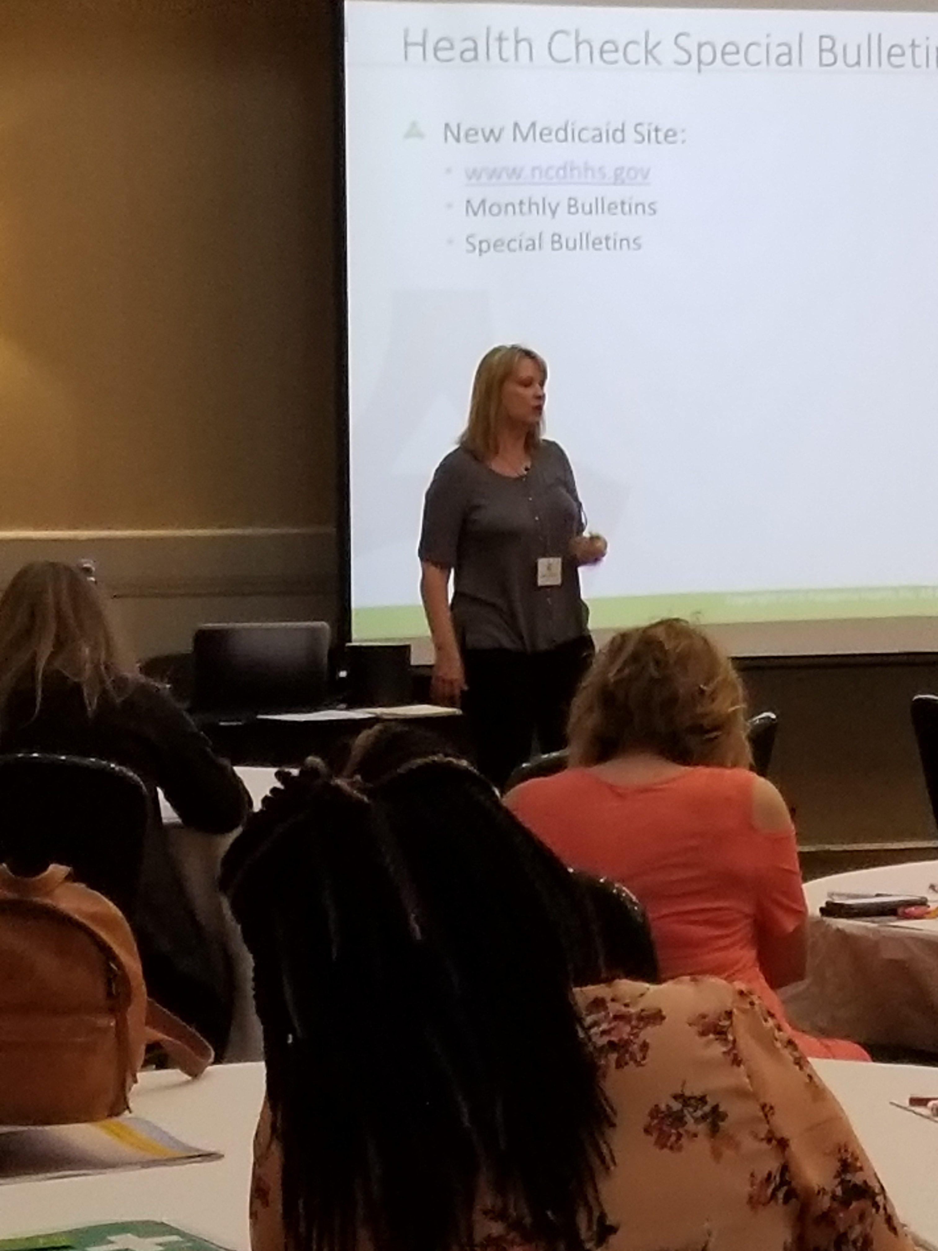 Debbie Widener Presenting