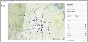 GIS Health Mapping App