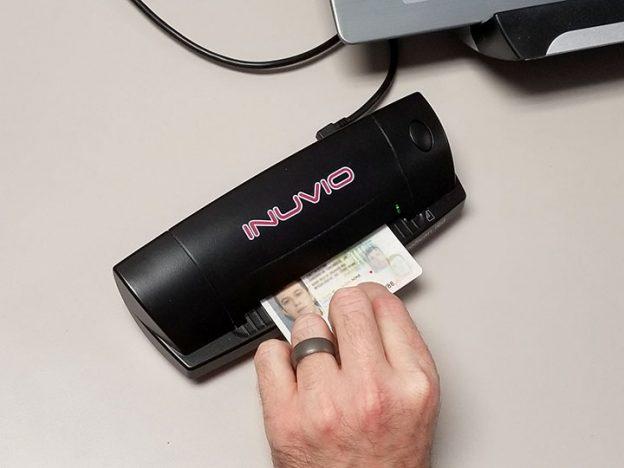 patient ID scanner