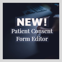 Editor for Electronic Health Record Patient Consent Forms