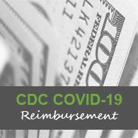 cdc covid reimbursement ehr