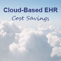 cloud-based ehr cost