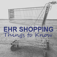 shopping for a new ehr